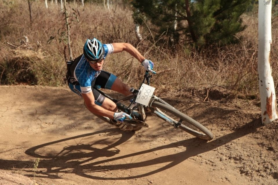 Loving the new berms at Stromlo!